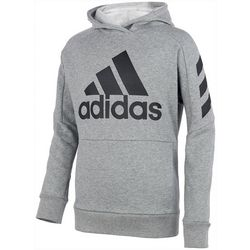 Adidas Big Boys Fleece Hoodie