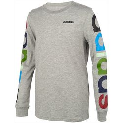 Adidas Big Boys Multi Color Logo T-Shirt