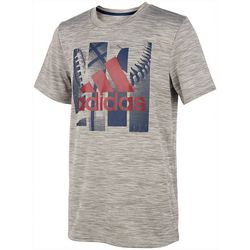 Adidas Big Boys Sports Ball Graphic T-Shirt