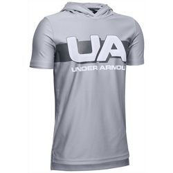 Under Armour Big Boys UA Logo Tech Hoodie