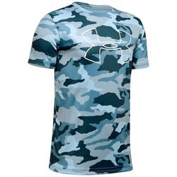 Under Armour Big Boys UA Camo Big Logo