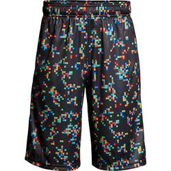 Under Armour Big Boys Stunt Digital Print Shorts