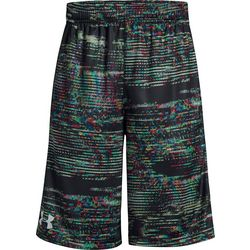 Under Armour Big Boys Stunt Digi Stripe Print Shorts