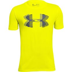 Under Armour Big Boys Tech Big Logo Neon T-Shirt