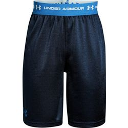 Under Armour Big Boys Tech Prototype Logo Shorts