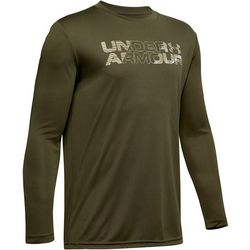 Under Armour Big Boys Logo Fill Long Sleeve T-Shirt
