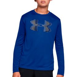 Under Armour Big Boys UA Tech Big Logo Long Sleeve T-Shirt