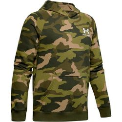 Under Armour Big Boys UA Rival Camo Print Fleece Hoodie