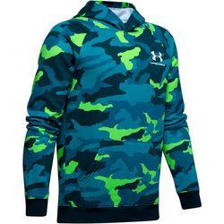Under Armour Big Boys UA Rival Camo Print Fleece Hoodie