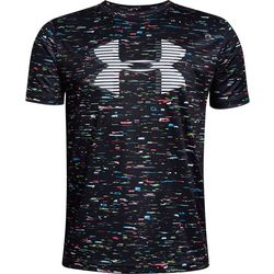 Under Armour Big Boys Tech Static Logo T-Shirt