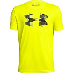 Under Armour Big Boys UA Tech Big Logo Crew T-Shirt