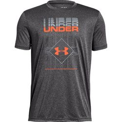 Under Armour Big Boys Ripple Duo Logo T-Shirt