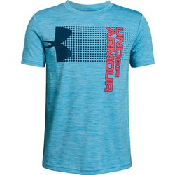 9bd49e4b577b Under Armour Big Boys UA Crossfade Short Sleeeve T-Shirt