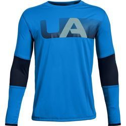 Under Armour Big Boys Tech Colorblocked T-Shirt
