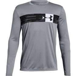 Under Armour Big Boys UA Pixel Crossbar T-Shirt