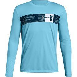 Under Armour Big Boys UA Pixel Crossbar T-Shirt
