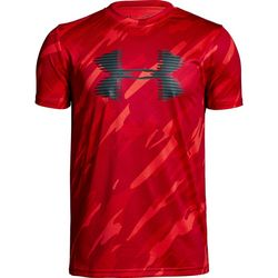 Under Armour Big Boys UA Tech Camo Print Logo T-Shirt