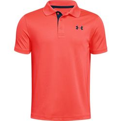 Under Armour Big Boys Performance Logo Polo Shirt