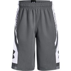 Under Armour Big Boys Space the Floor Steel Shorts