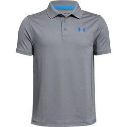 Under Armour Big Boys Performance Novelty Polo Shirt