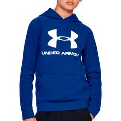 Under Armour Big Boys UA Rival Solid Hoodie