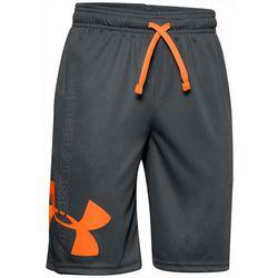 Under Armour Big Boys UA Prototype Super Pro Logo Shorts
