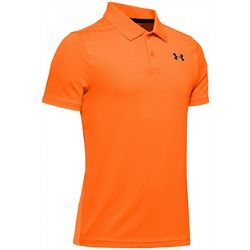 Under Armour Big Boys UA Performance Textured Polo Shirt