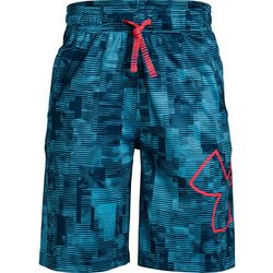 Under Armour Big Boys UA Renegade 2.0 Jacquard Shorts