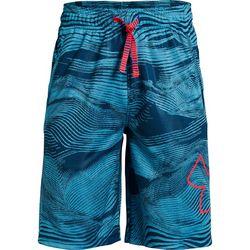 Under Armour Big Boys UA Renegade 2.0 Jacquard Swirl Shorts