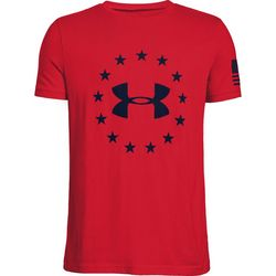Under Armour Big Boys UA Freedom Logo T-Shirt
