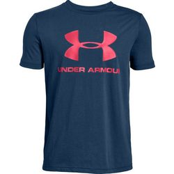 Under Armour Big Boys UA Sportstyle Logo T-Shirt