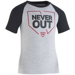 Under Armour Little Boys Never Out Raglan T-Shirt