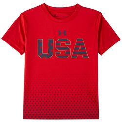 Under Armour Little Boys USA Stars T-Shirt