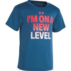 Under Armour Little Boys UA New Level Short Sleeve T-Shirt