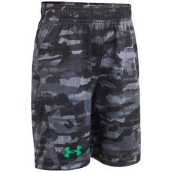 Under Armour Little Boys UA Knockout Grit Camo Shorts