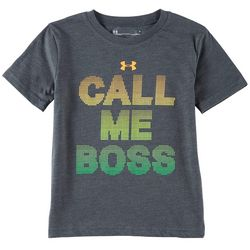 Under Armour Little Boys UA Call Me Boss T-Shirt
