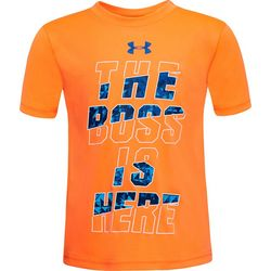 Under Armour Little Boys UA The Boss Is Here T-Shirt