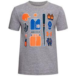 Under Armour Little Boys UA Baseball Icon T-Shirt