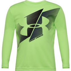 Under Armour Little Boys Team Work Long Sleeve T-Shirt