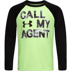 Under Armour Little Boys UA Call My Agent Raglan T-Shirt
