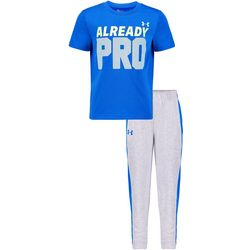 Under Armour Little Boys UA 2-pc. Already Pro Pants Set