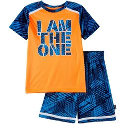 Spalding Little Boys 2-pc. I Am The One Shorts Set