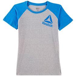 Reebok Big Boys Logo Raglan T-Shirt