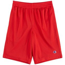 Champion Big Boys Solid Mesh Shorts