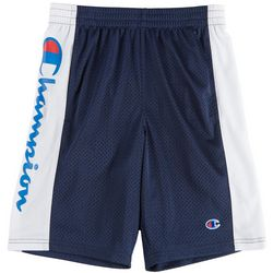 Champion Big Boys Logo Pieced Mesh Shorts