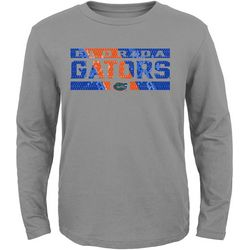 Florida Gators Big Boys Grid Long Sleeve T-Shirt