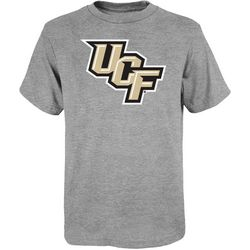 UCF Knights Big Boys Heathered Short Sleeve Logo T-Shirt