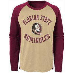 Florida State Little Boys Long Sleeve Raglan T-Shirt