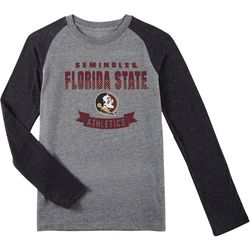 Florida State Big Boys Raglan Long Sleeve T-Shirt