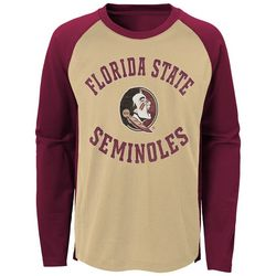 Florida State Big Boys Long Sleeve Raglan T-Shirt